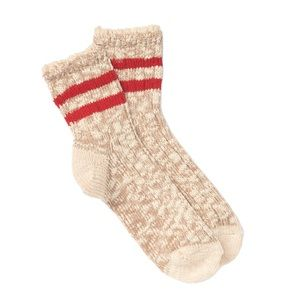 Free People Accessories - Free People Canyons Lace Trim Ankle Socks